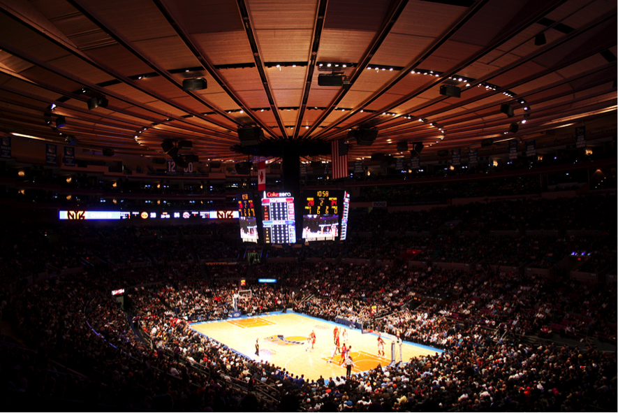 "Madison Square Garden, Copyright ""eddygaleotti"" on Bigstock"